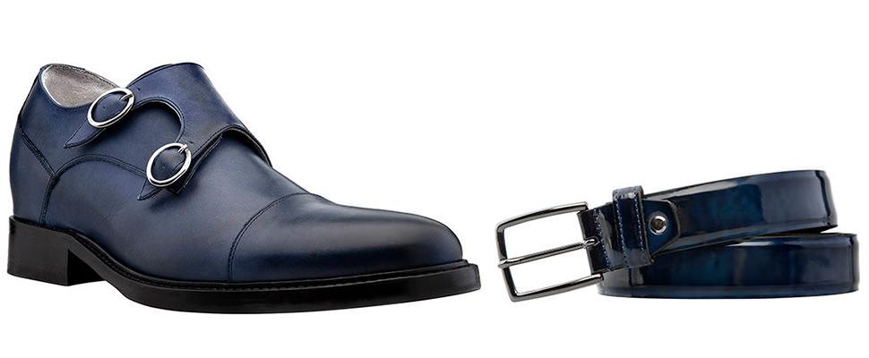 Scarpe Matrimonio Uomo Blu : Scarpe e cinture regole d abbinamento moda uomo