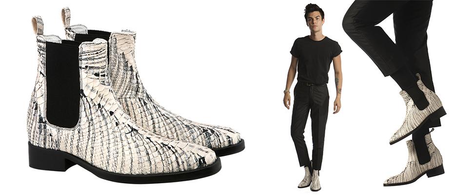 scarpe con rialzo esotiche