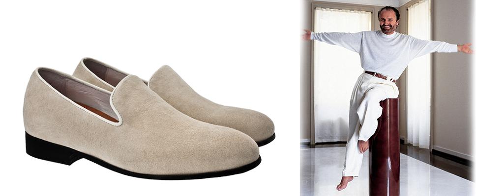 scarpe rialzate versace