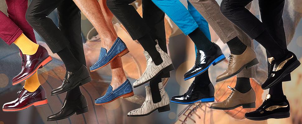 calzini giusti per scarpe rialzate