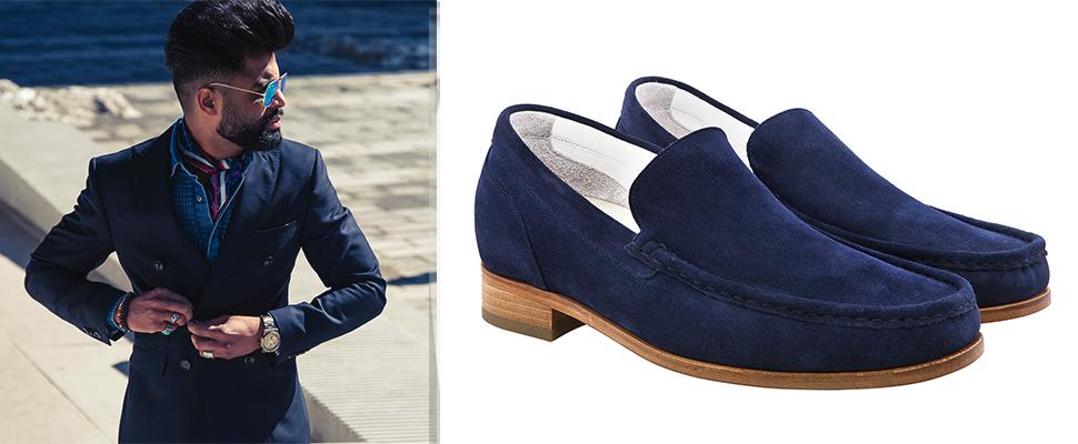 scarpe rialzate da uomo