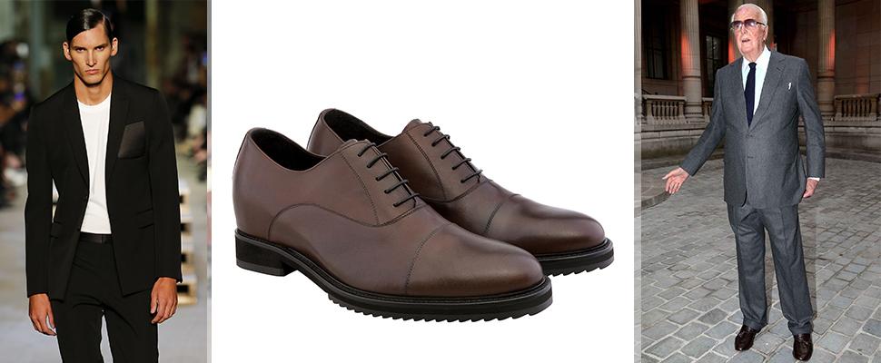 scarpe con rialzo interno givenchy
