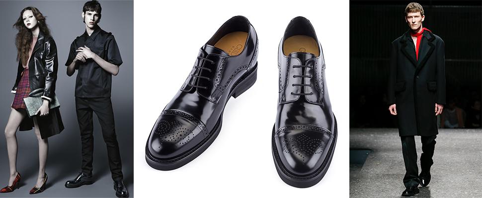 scarpe rialzate prada