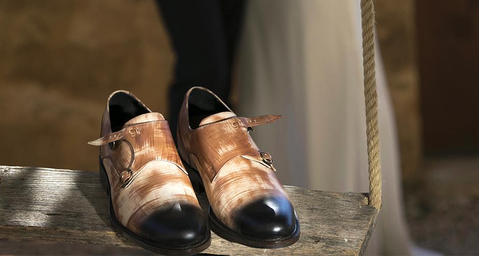 scarpe rialzate da cerimonia