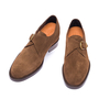 scarpe con fibbia rialzanti