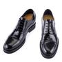 scarpe in vernice con rialzo