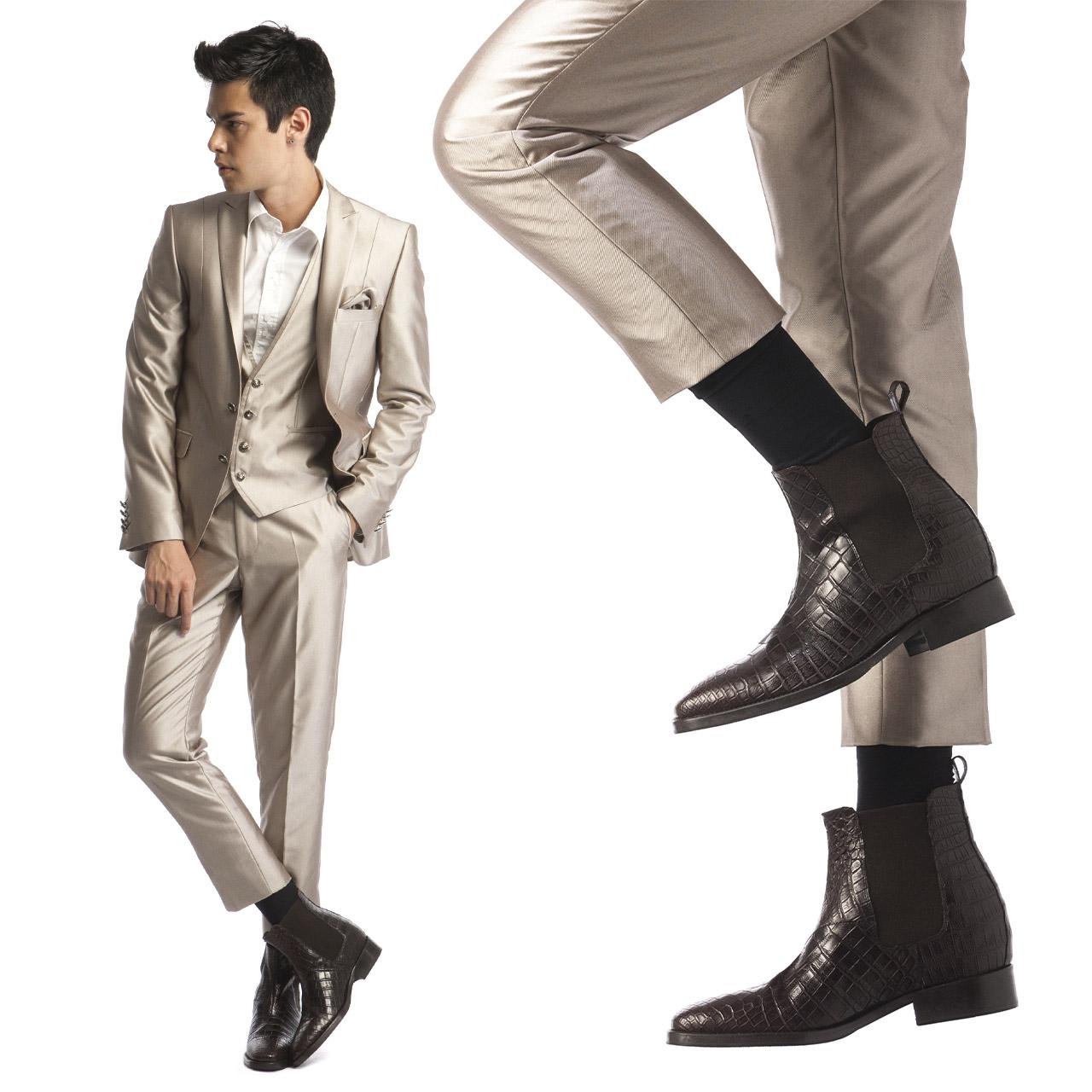 scarpe di lusso rialzanti