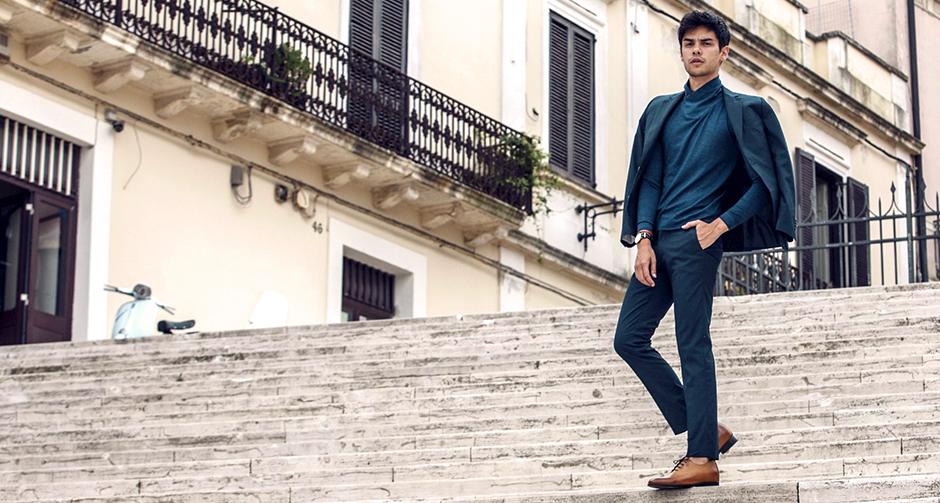 Maglione dolcevita e Scarpe con Rialzo: l'outfit perfetto