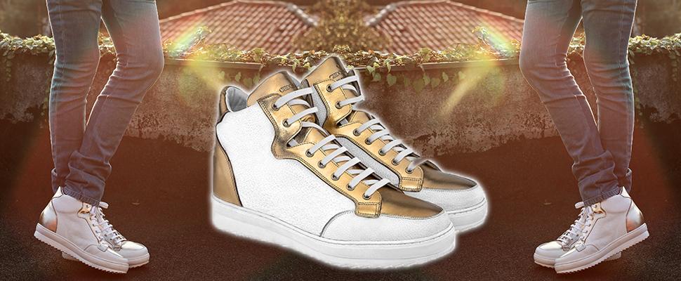 scarpe rialzate moda uomo under 25