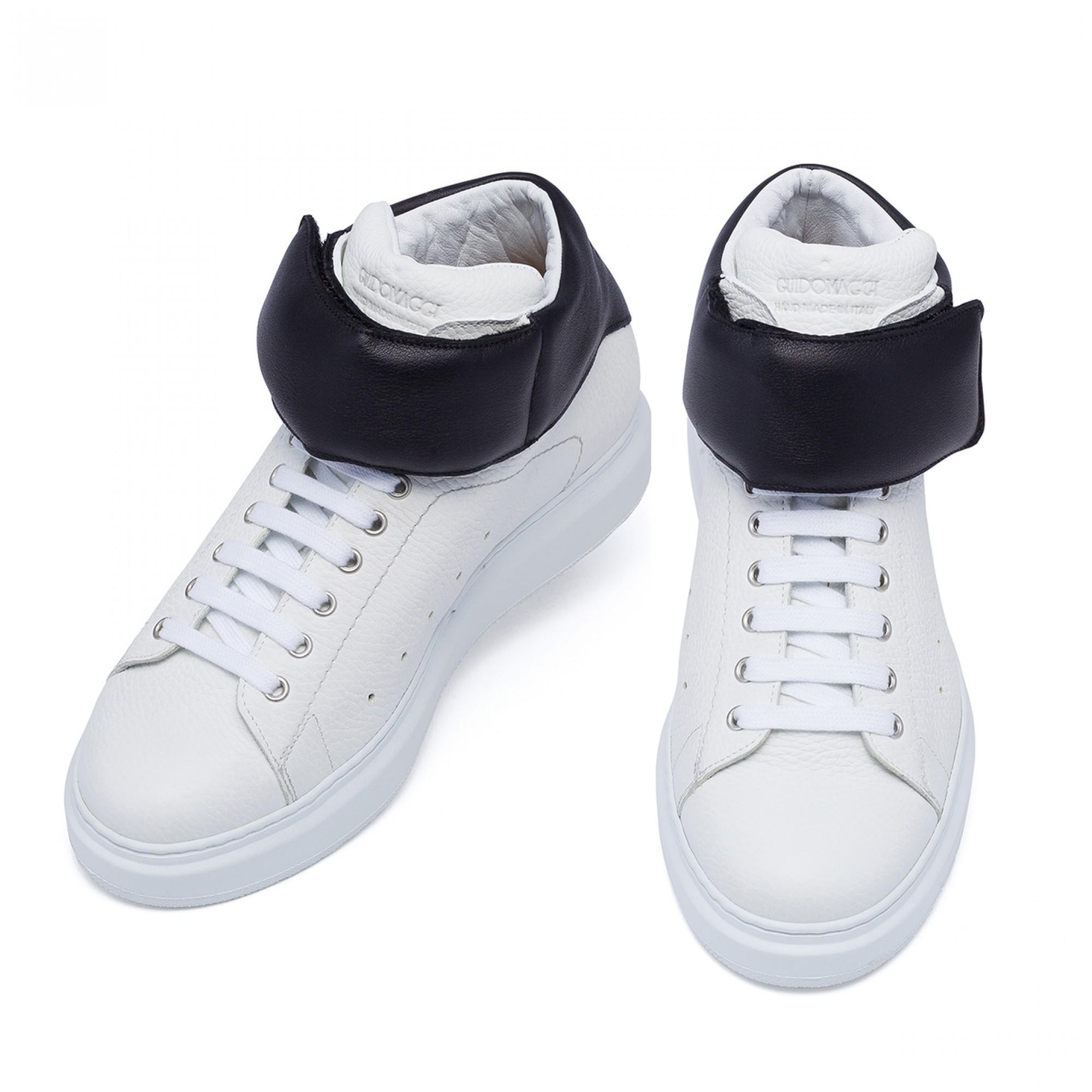 scarpe fatte a mano rialzate