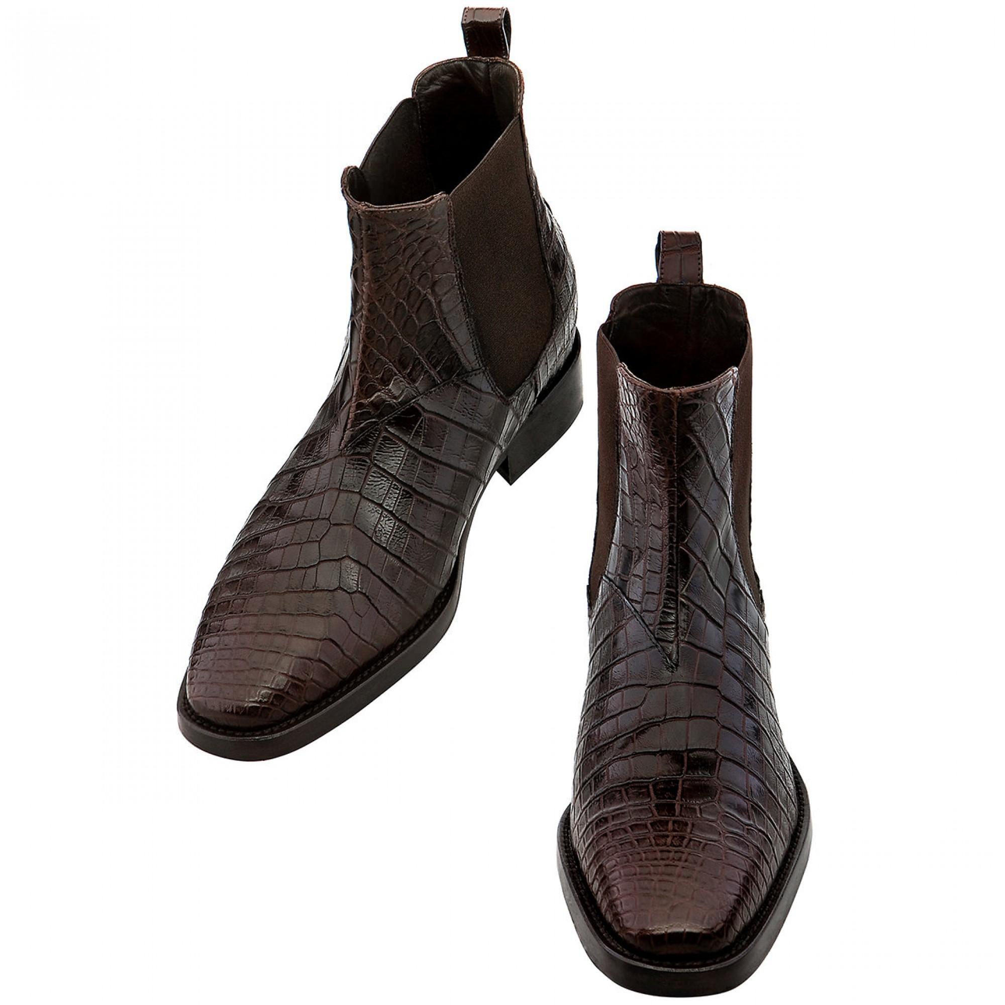 scarpe tacco alto uomo