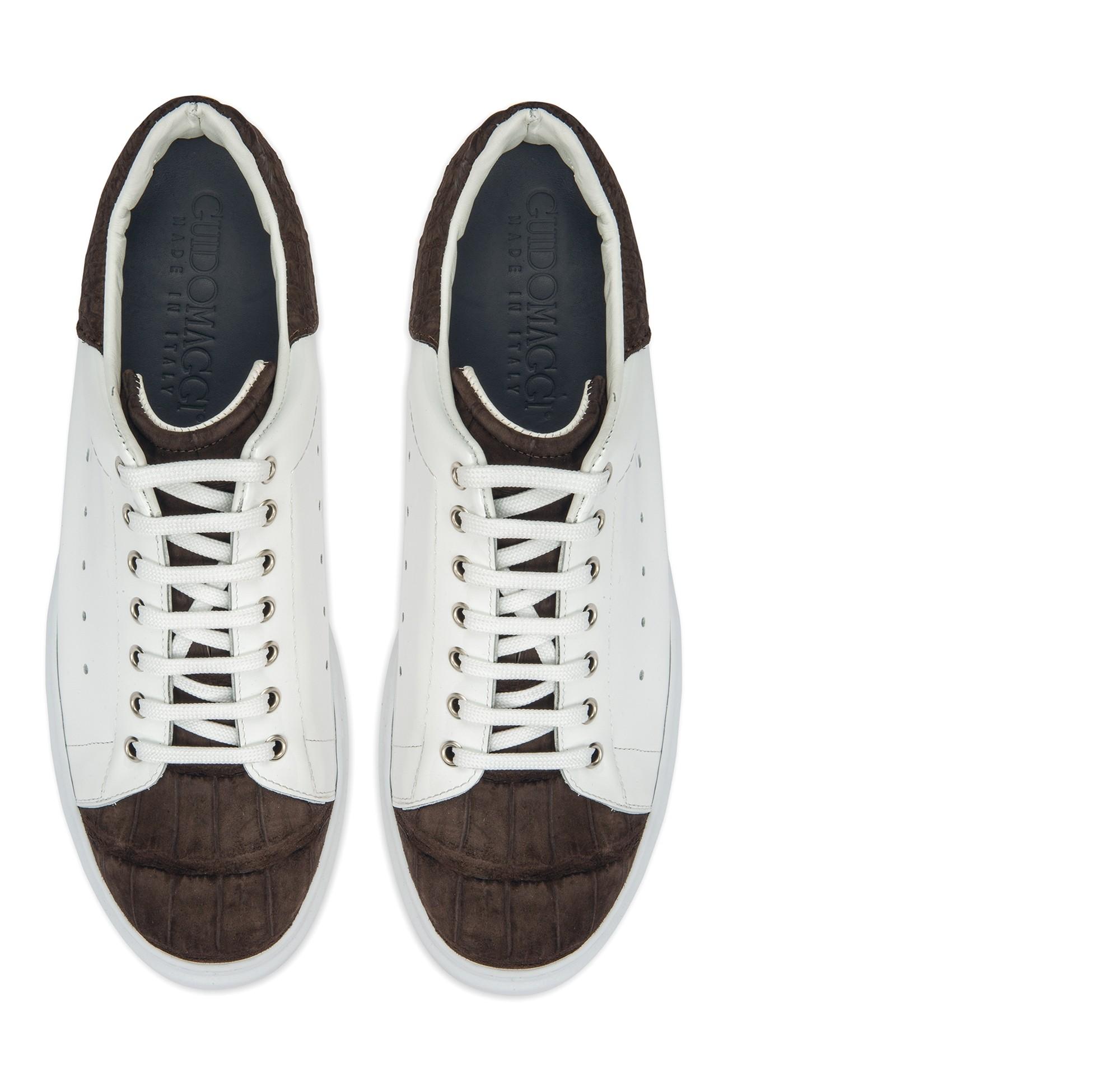 scarpe coccodrilllo uomo