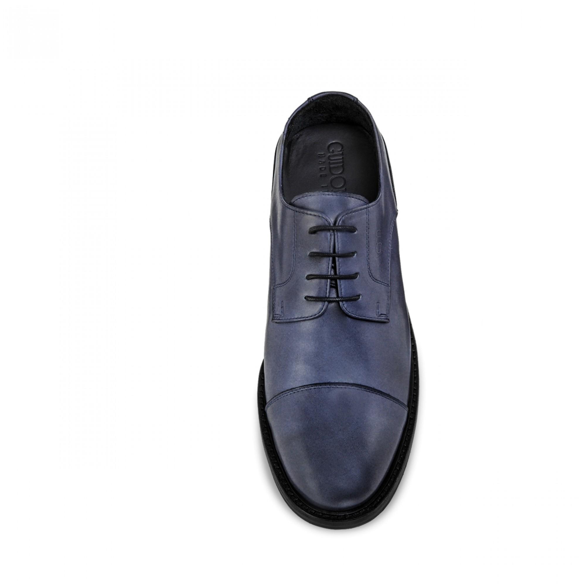 scarpe con rialzo dipinte a mano