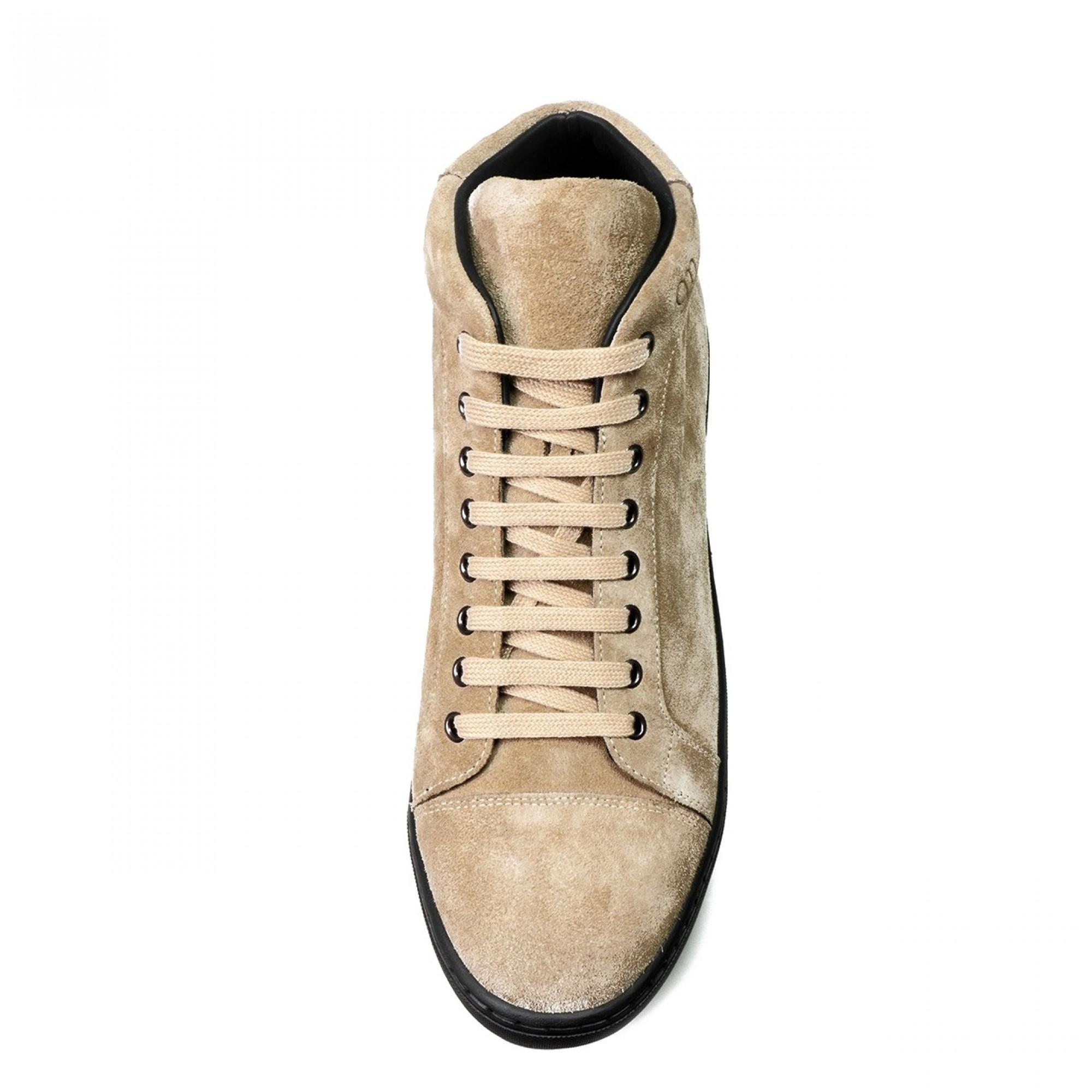 scarpe con rialzo uomo