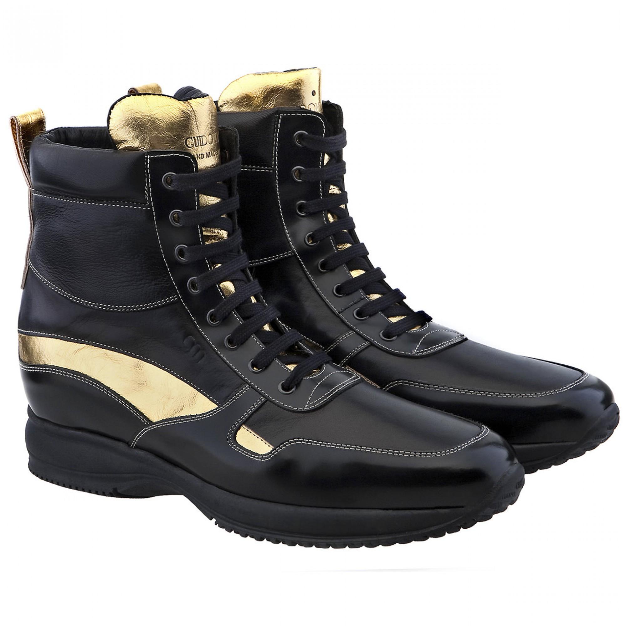 scarpe uomo con rialzo interno