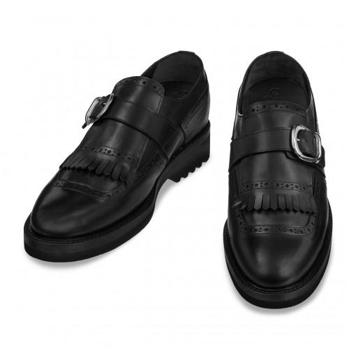 scarpe con rialzo parioli